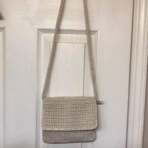 The Sak Cream Crossbody Bag